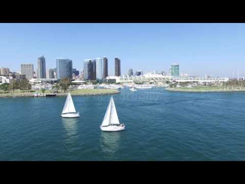 San Diego Scenic Stock Video