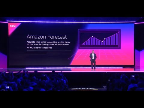 AWS re:Invent 2018 – Announcing Amazon Forecast