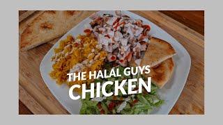 New York&#39s The Halal Guys Chicken Recipe  Street Food