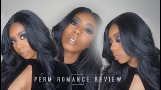 Sensationnel Empress Synthetic Lace Front Wig | Perm Romance Review