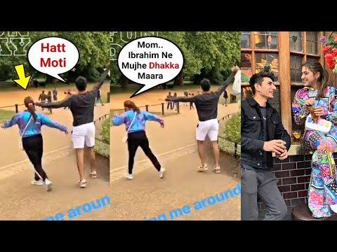 Sara Ali Khan And Ibrahim Ali Khan Cute Brother-Sister Fight Mp3