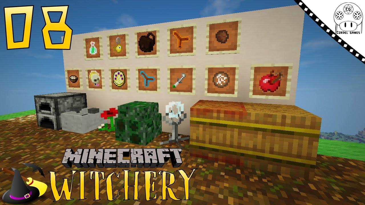 TUTORIAL WITCHERY - #8 MISCELÂNEA PARA BRUXARIA [MINECRAFT MOD WITCHERY]