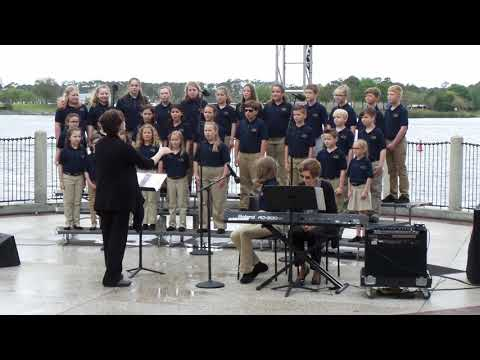 Michigan Avenue Elementary School Chorus 2018 at Disney World (1 of 2)