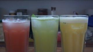 Drei alkoholfreie Cocktails Teil 1 - Rezepte mit Anleitung