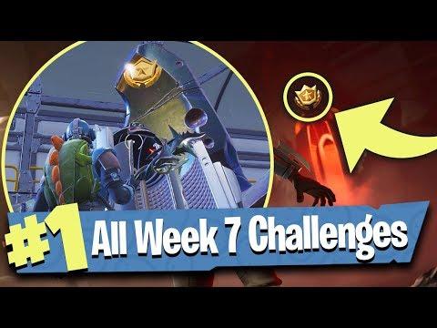 Fortnite WEEK 7 CHALLENGES Guide (Score Goals + Blockbuster Skin) - Fortnite Battle Royale