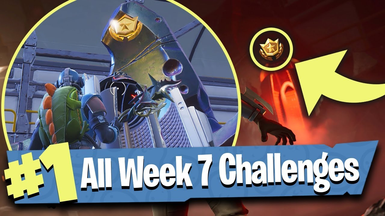 Fortnite Challenges - Week 7 Challenges list, plus Carbide and Blockbuster ...