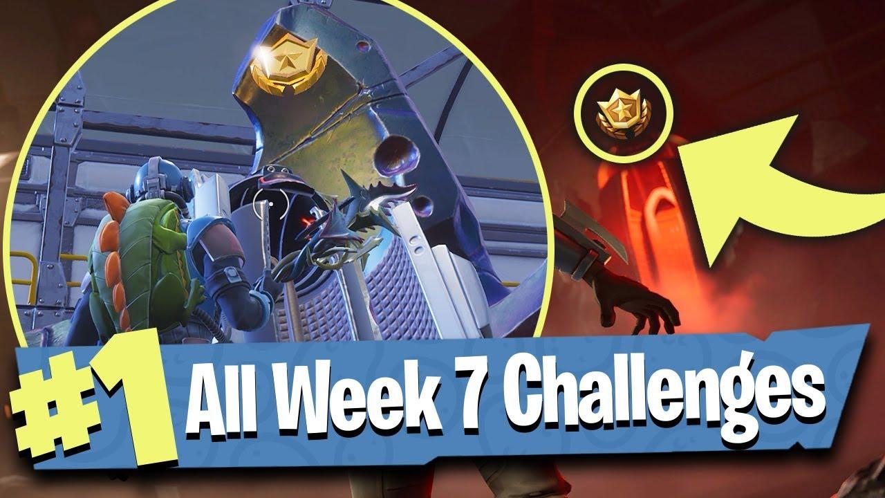 Fortnite Week 7 Challenges Guide Score Goals Blockbuster Skin