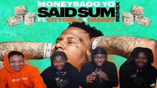 Moneybagg Yo – Said Sum Remix feat. City Girls, DaBaby [Official Music Video] REACTION