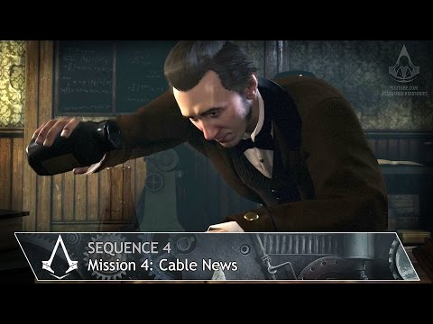 Assassin's Creed: Syndicate - Mission 4: Cable News - Sequence 4 [100% Sync]