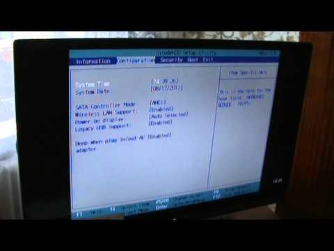 Как увидеть BIOS на внешнем мониторе или телевизоре.