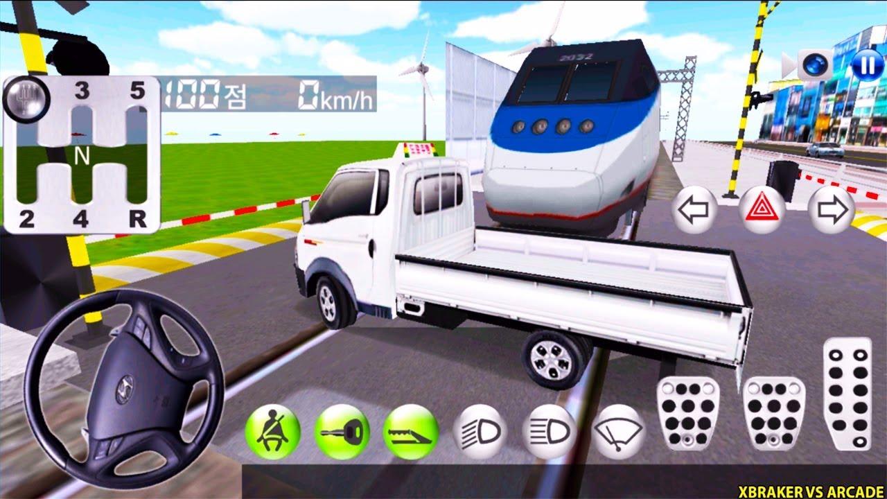 Korean Car Driving Simulator #5 Hyundai - Driver's License Examination - Best Android Gameplay