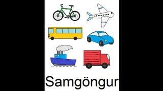 Icelandic Lesson #40: Transportation - Singular and Plural, Pronunciation