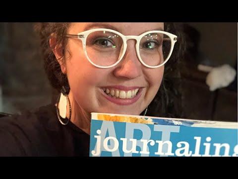 Art Journaling Magazine Cover