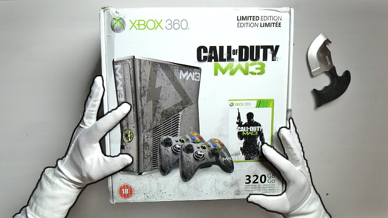Mw3 Limited Edition Console Unboxing Call Of Duty Modern Warfare