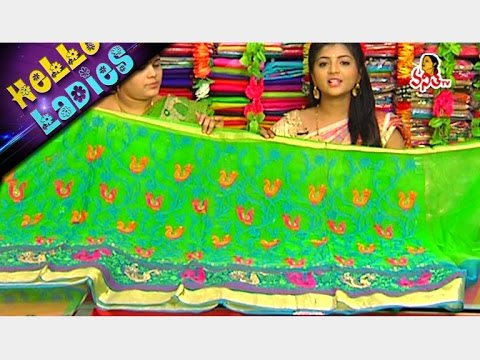Stunning Pure Handloom Rajasthani Kota And Tissue Sarees || Hello Ladies || Vanitha TV