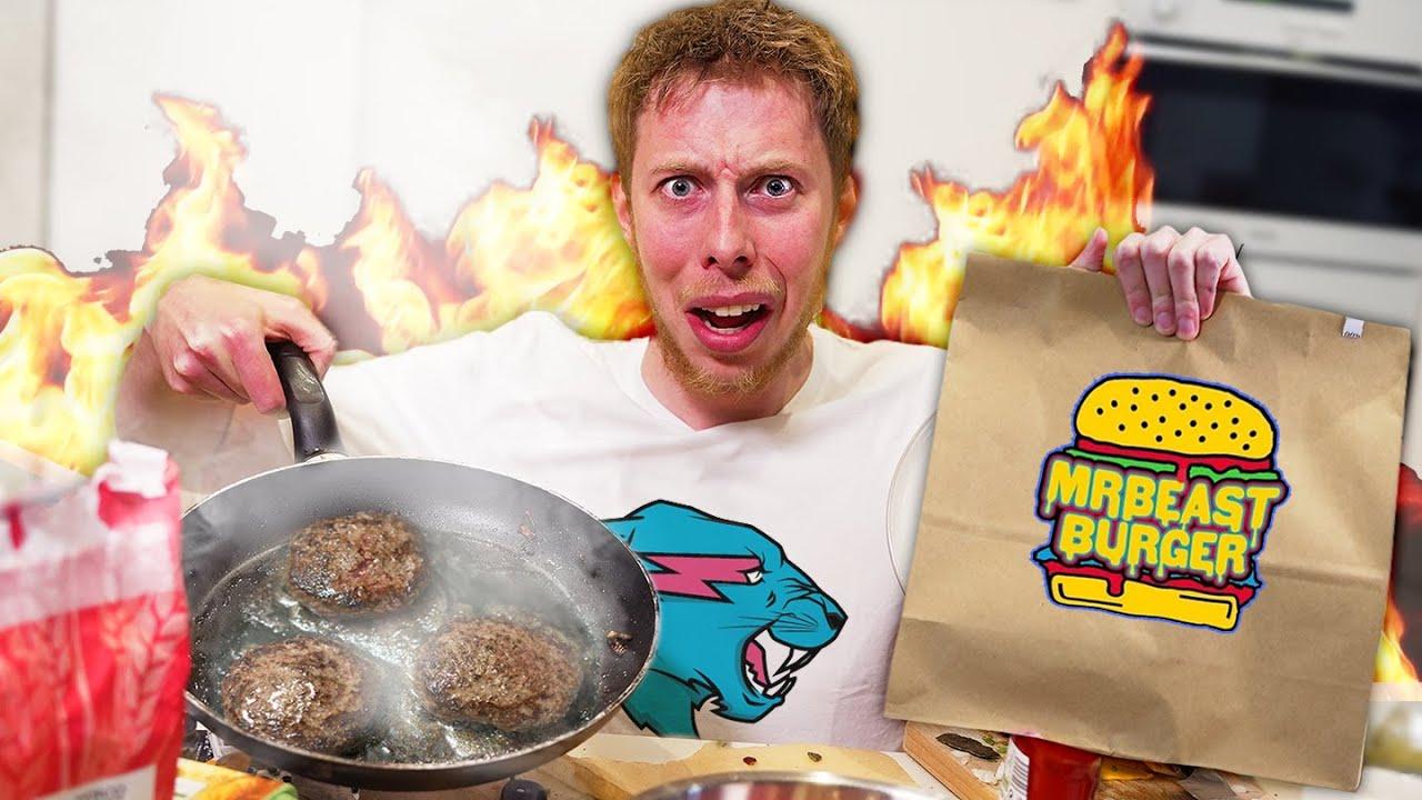 I Recreated Mr Beast Burgers At Home!