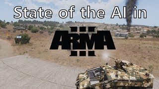 The state of the AI in Arma 3