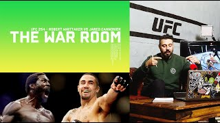 UFC 254 - ROBERT WHITTAKER VS JARED CANNONIER - THE WAR ROOM, DAN HARDY BREAKDOWN EP. 75