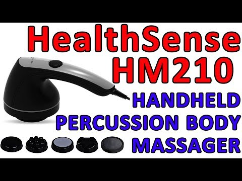 HealthSense Handheld Body Massager