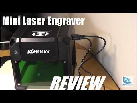 REVIEW: KKmoon DIY Compact Laser Engraving Machine!