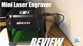 REVIEW: KKmoon DIY Compact Laser Engraving Machine!