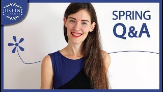 Ostracized for talking about fast fashion? My fashion pet peeve? ǀ Spring Q&A ǀ Justine Leconte
