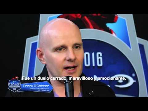 Felicitación de Frank O' Connor - Campeón del #HaloWC Chosen Squad