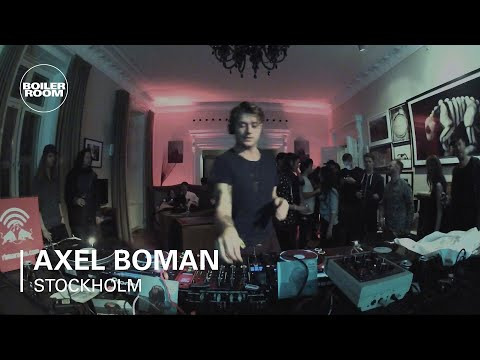 Axel Boman Boiler Room Stockholm x Red Bull Music Academy DJ Set