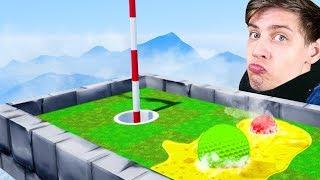 ЭТИ ШАРИКИ НАЧАЛИ ПЛАВИТЬСЯ ОТ ЖАРЫ?! ХАЙПЕР vs. БАНДА ЮТУБ на КАРТЕ С САМОЙ БОЛЬШОЙ ПИЦЦЕЙ! (Golf)