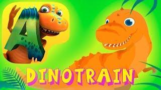 Dino Tren en Español para Niños - Peques Juegan y Aprenden de los DInosaurios  Dibujos de Dinosaurio
