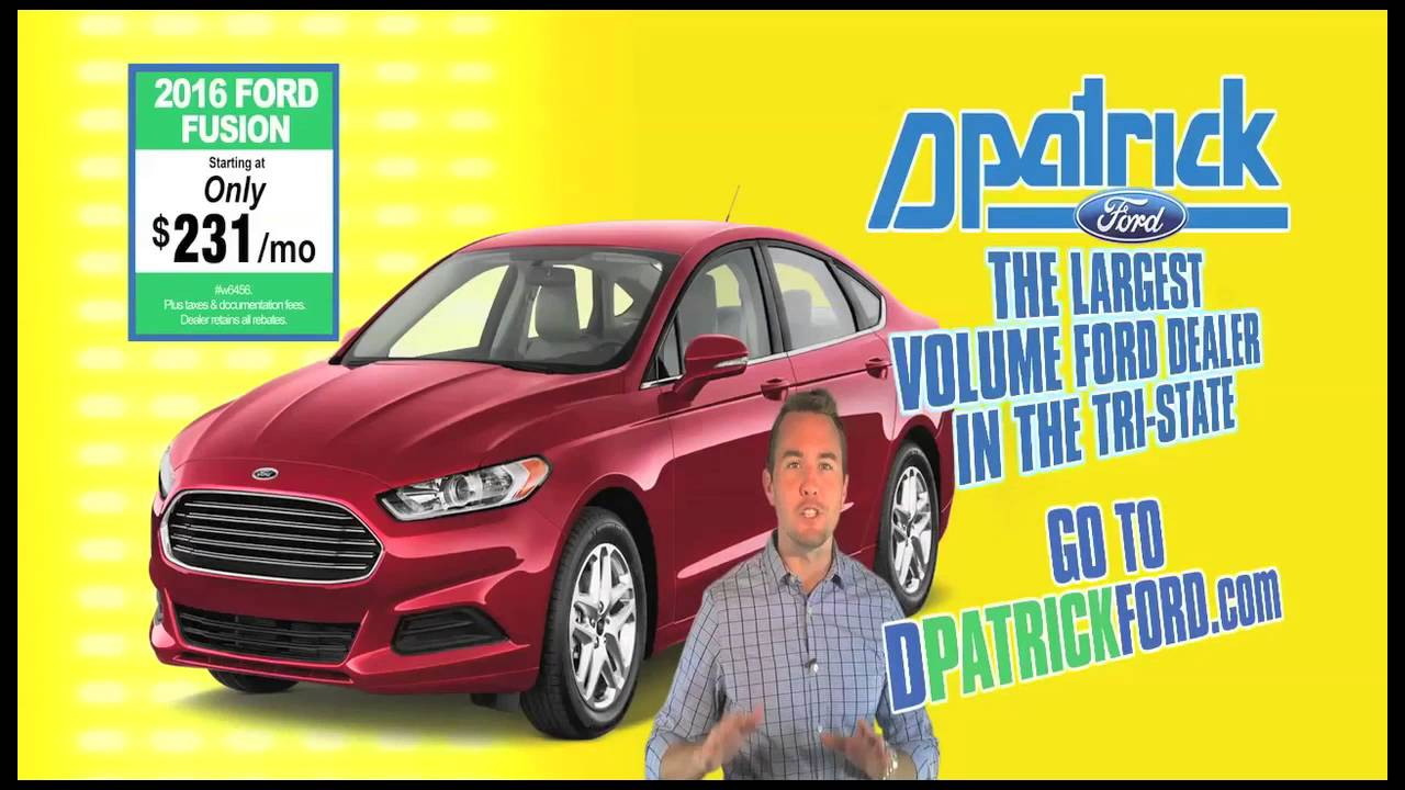D Patrick Ford >> D-Patrick Ford - Easy as 1-2-3 - Focus, Fusion, Escape Deals - YouTube