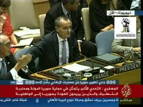 سفير فرنسا يغضب ويفضح تاريخ عائلة الاسد مقطع خطير جداً