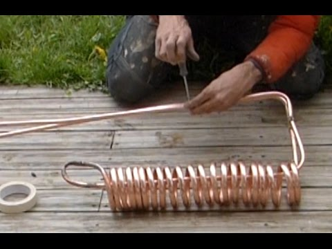 Ep  Fabriquer Son Chauffe Eau  Homemade Water Heater  Youtube
