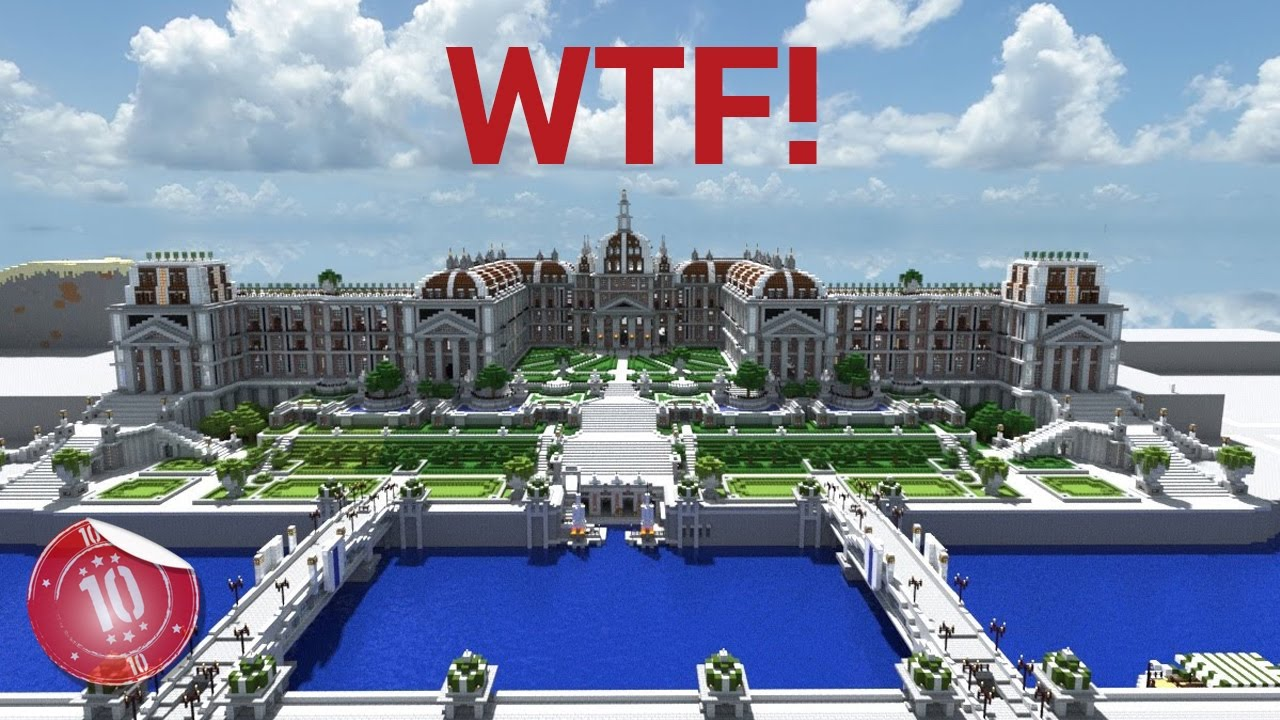 Top 10 largest minecraft houses ever built youtube for Top 10 biggest houses in the world