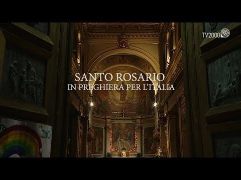 Santo Rosario, In preghiera per l'Italia