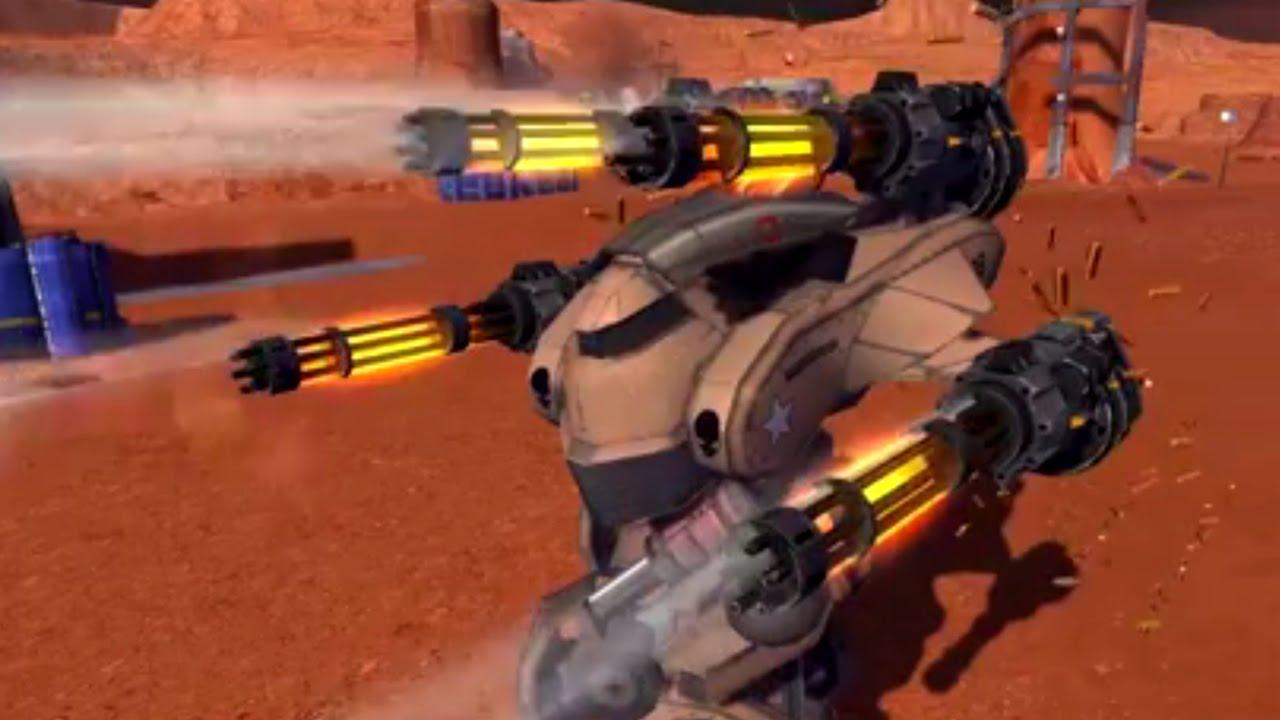 War Robots Test Server 2.7.0 - Improved Punisher And Molot ...