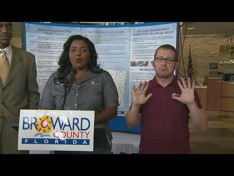 3PM Update: Broward County Mayor Talks Irma Preps, School Closings