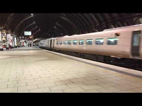 New 800025 runs through York on 5X80 Merchant Park to Doncaster Carr IEP depot 13/10/17