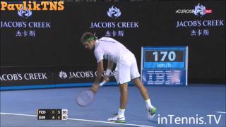 Grigor Dimitrov vs Roger Federer Highlights ᴴᴰ Australian Open 2016