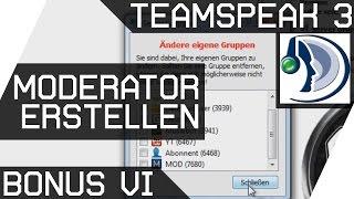 Teamspeak Bonus 6 [Moderator erstellen] Deutsch [GER HD]
