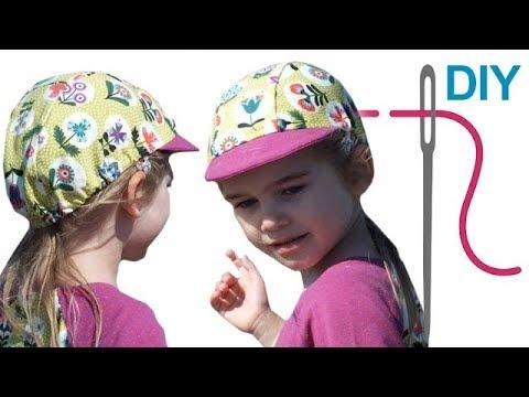 Einfache Kindermütze, Mütze selber nähen \