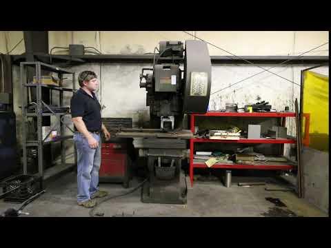 Lot 118 Punch Press, Rousselle Model 3G