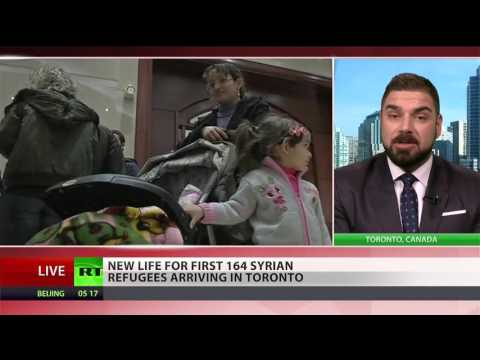 Over 164 Refugees Arrive In Canada, More Expected
