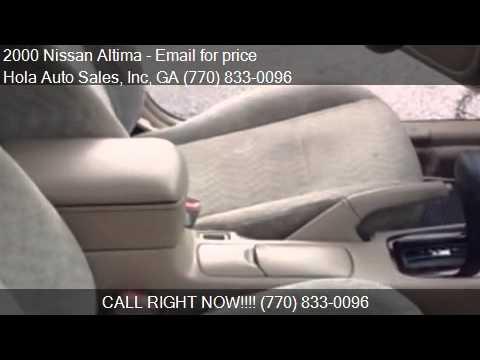 2000 Nissan Altima GXE 4dr Sedan for sale in Atlanta GA
