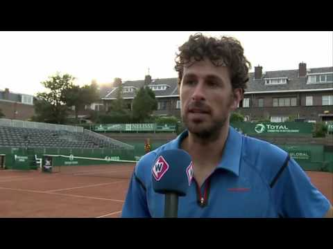 Interview met Robin Haase bij The Hague Open