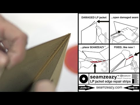 Seamzeazy Record Jacket Repair Strips