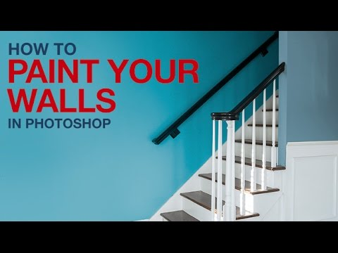 'Paint' walls a different color with this simple Photoshop trick