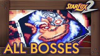 Star Fox 2 - All Bosses