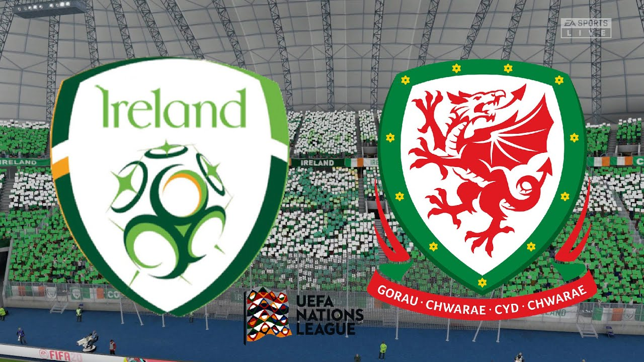 Uefa Nations League 2020 Republic Of Ireland Vs Wales 11th October 2020 Fifa 20 Youtube