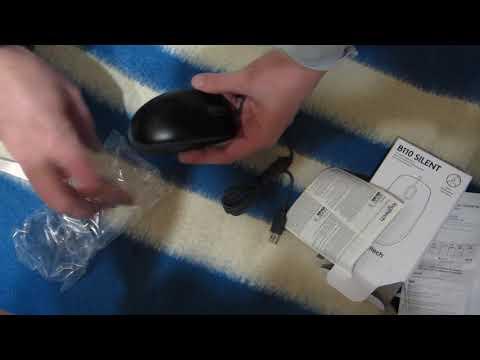 Миша Logitech B110 Silent USB Black (910-005508)